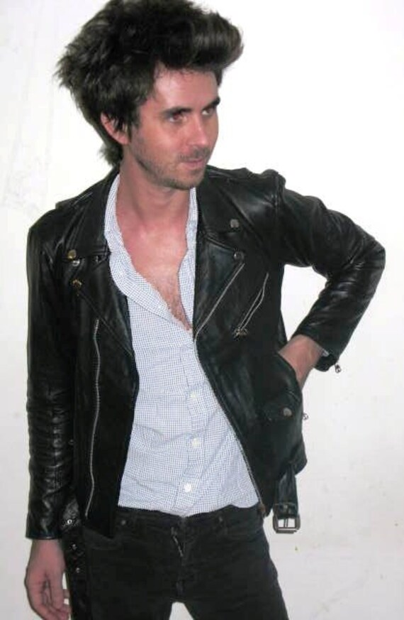 Black Leather Jacket Celebrity