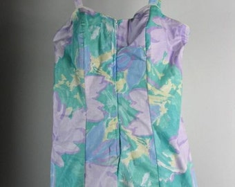 1960s  Unworn Ceeb of Miami Floral Swimwuit /   sz XL