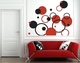 Wall Sticker Circles (051n)
