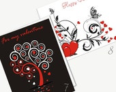DIY Printable Valentine's Day Classic Cards