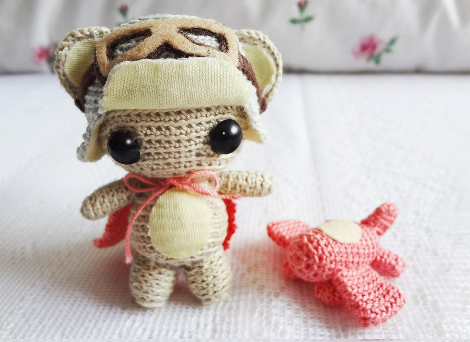 Crochet Amigurumi Pattern Amigurumi Monkey Pattern Crochet
