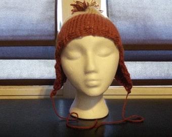 Muted Medium Light Weight Jayne Mansfield's Candy Corn on the Cobb Hat