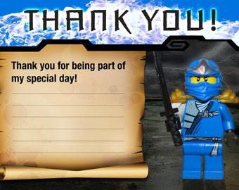 Ninja Thank You Card
