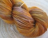Savannah - 100g Hand Dyed 75% Superwash wool/ 25 percent Nylon Sock Yarn
