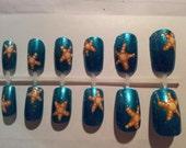 Starfish False Nails