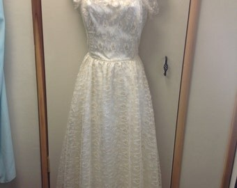 Vintage Gunne Sax 1970' Prom Dress.
