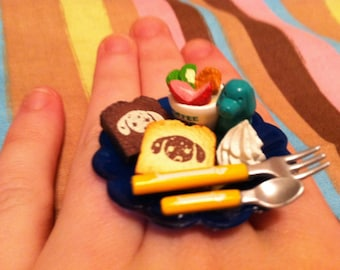 Little Puppy French Toast Breakfast Ring