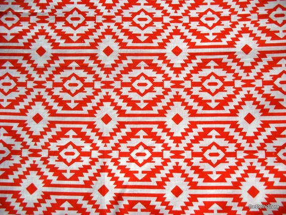 Ikat print pure fine cotton dress fabric remnant by for Ikat fabric dress
