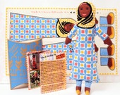 DIY Craft Original Art Muslim Doll Kit Gift for Girls