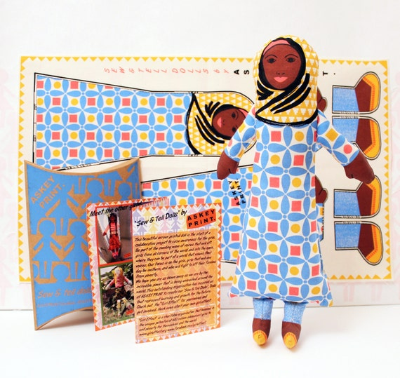Muslim Rag Doll Gift for Girls