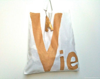 Vie TOTE Bag - French / Eve Damon
