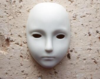 SALE 50% OFF !! Ceramic Bisque Mask