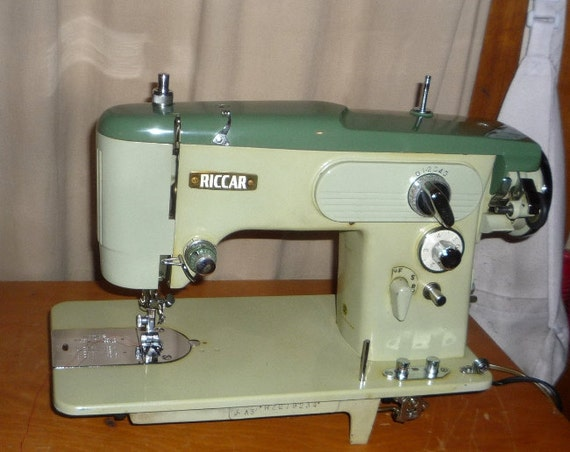 restored riccar sewing machine w service guaranty