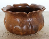 Vintage Hawaii Hardwoods Monkeypod Bowl