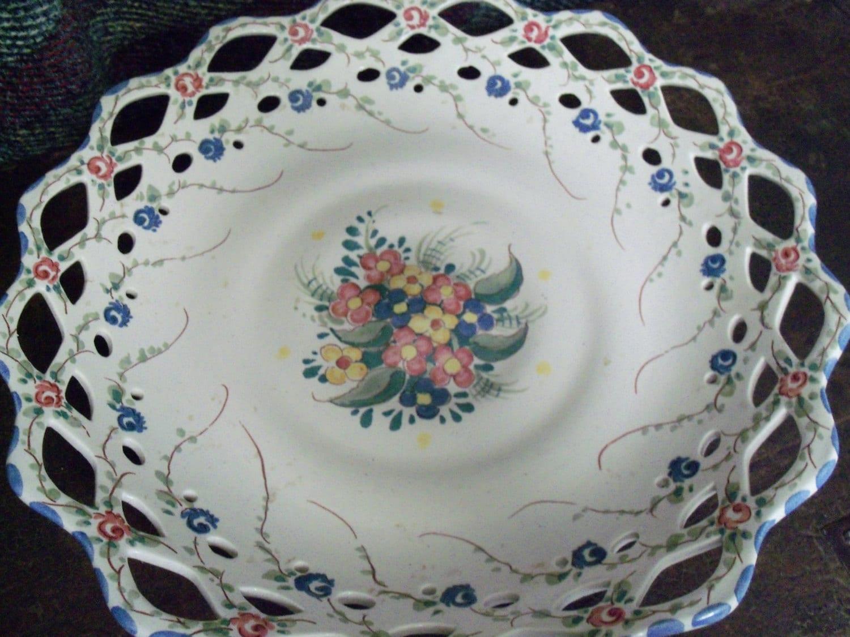 Handpainted Gouda Zenith Dutch Pottery Plate