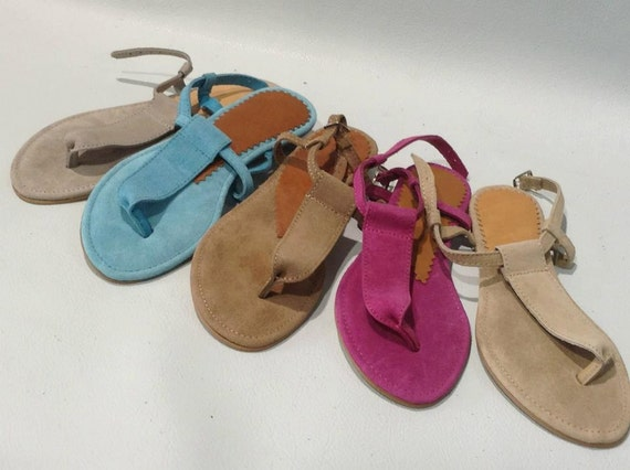 Women Sandals leather genuine many color at any size