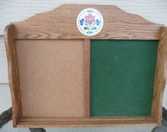 Oak Wood Message Board