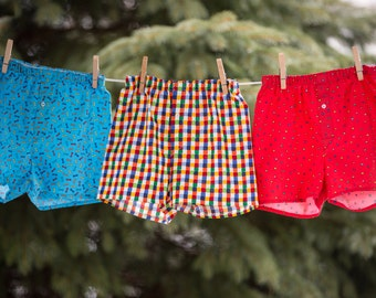 Handcrafted Boys Boxer Shorts