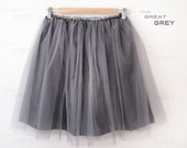 Tulle skirt (The Great Grey)