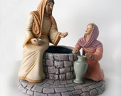Jesus at Well with Samaritan Woman