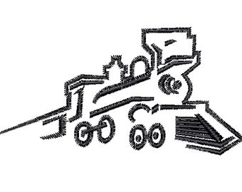 Train engine Railroad embroidery design 2 sizes Embroidery Machine pattern File Digital Download