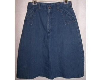 popular items for blue jean skirt on etsy