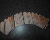 Wood  Woodgrain Cupcake Wrappers  Set of 12
