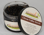 Moisturizing Citrus Coffee Scrub (12 oz)