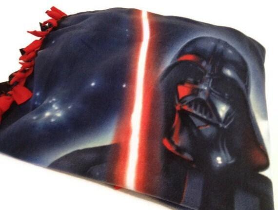 Star Wars Tie Blanket Darth Vader Fleece No By