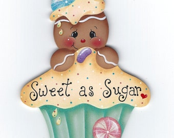 Sweet as Sugar Gingerbread Painting E-Pattern