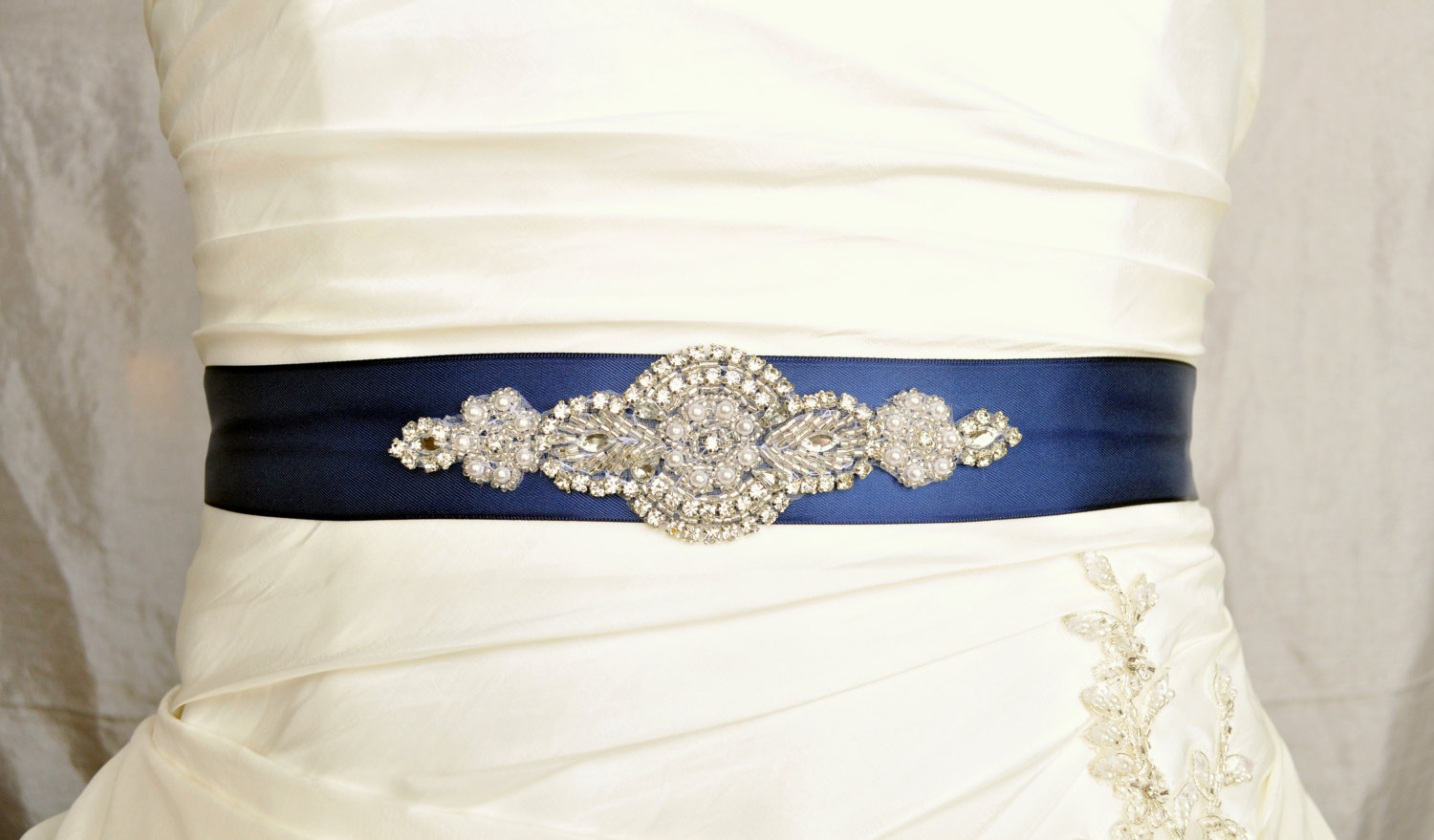 Emma wedding belt wedding sash bridal belt bridal sash for Wedding dress belt sash