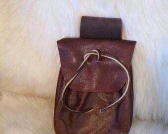 Leather Belt Pouchs