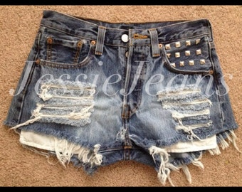 high waisted denim shorts destroyed denim shorts