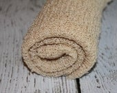 Newborn Baby, Maternity Soft Stretch Wrap, Swaddle, Cocoon.....Photo Prop, TAN LINEN