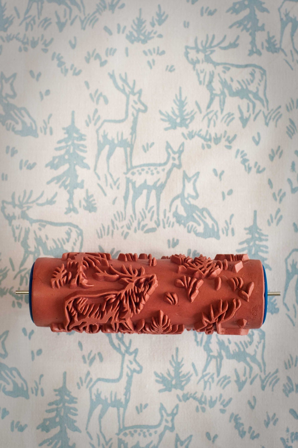 No 6 Patterned Paint Roller From The Painted House Interiors Inside Ideas Interiors design about Everything [magnanprojects.com]