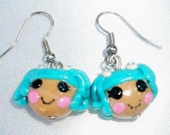 lalaloopsy mittens fluff 'N' stuff earrings