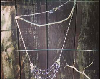 The Art Deco Amethyst Necklace