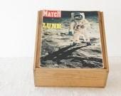 Rare Historical Vintage Paris Match - Apollo 11 - 16 August 1969 - number 1058