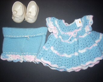 Cabbage Patch Crochet Outfit