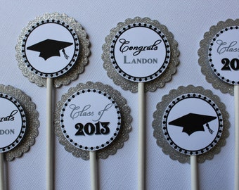 Graduation Cupcake Toppers