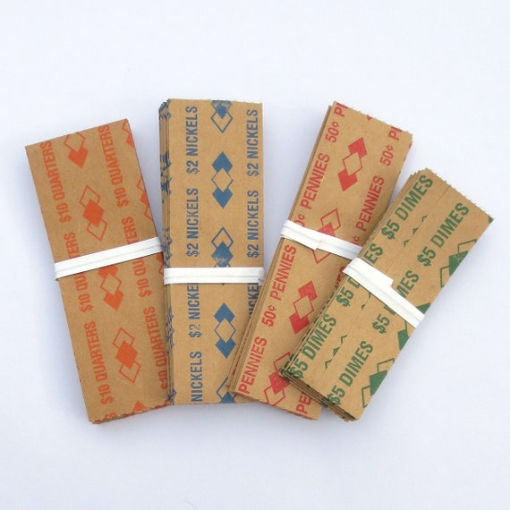 paper coin holders
