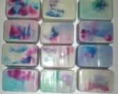 Tye-Dye Swirl Specialty Goat's Milk Soap, 2oz (2pk)