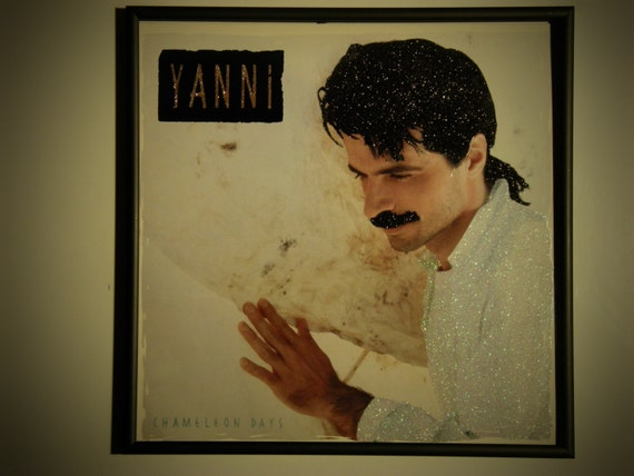 Glittered Record Album - Yanni - Chameleon Days
