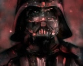 Darth Vader Art Print 11x17