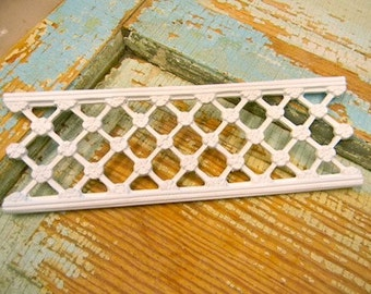 Dollhouse Miniature Decorative Lattice Panel