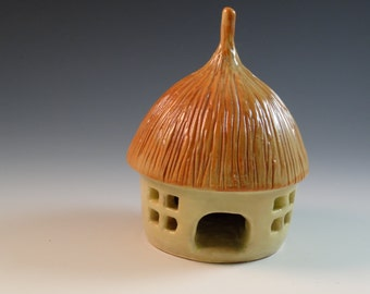 Fairy house for the faires looking for a home to brighten your spring garden.