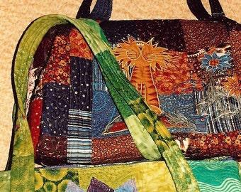 Dandy Duffle Bag Pattern Only