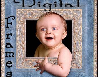 Digital Photo Frames Photoshop Scrapbook Borders & Edges (R)