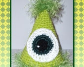 One Eyed Monster Party or Birthday Hat