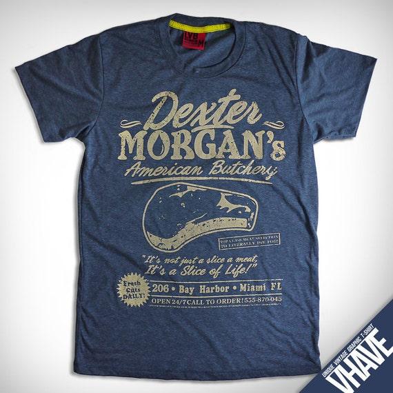 Asian size v009 dexter morgan heather dark blue for T shirt printing miami fl